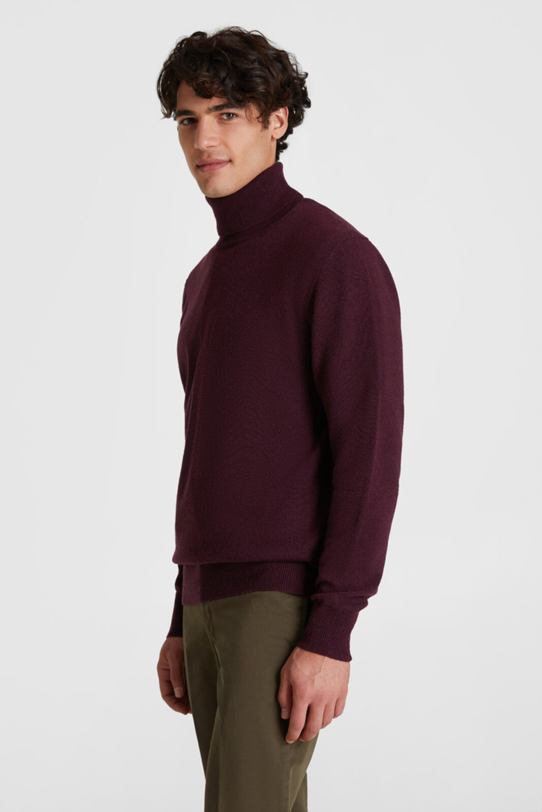 Turtleneck Wool Sweater - Woolrich