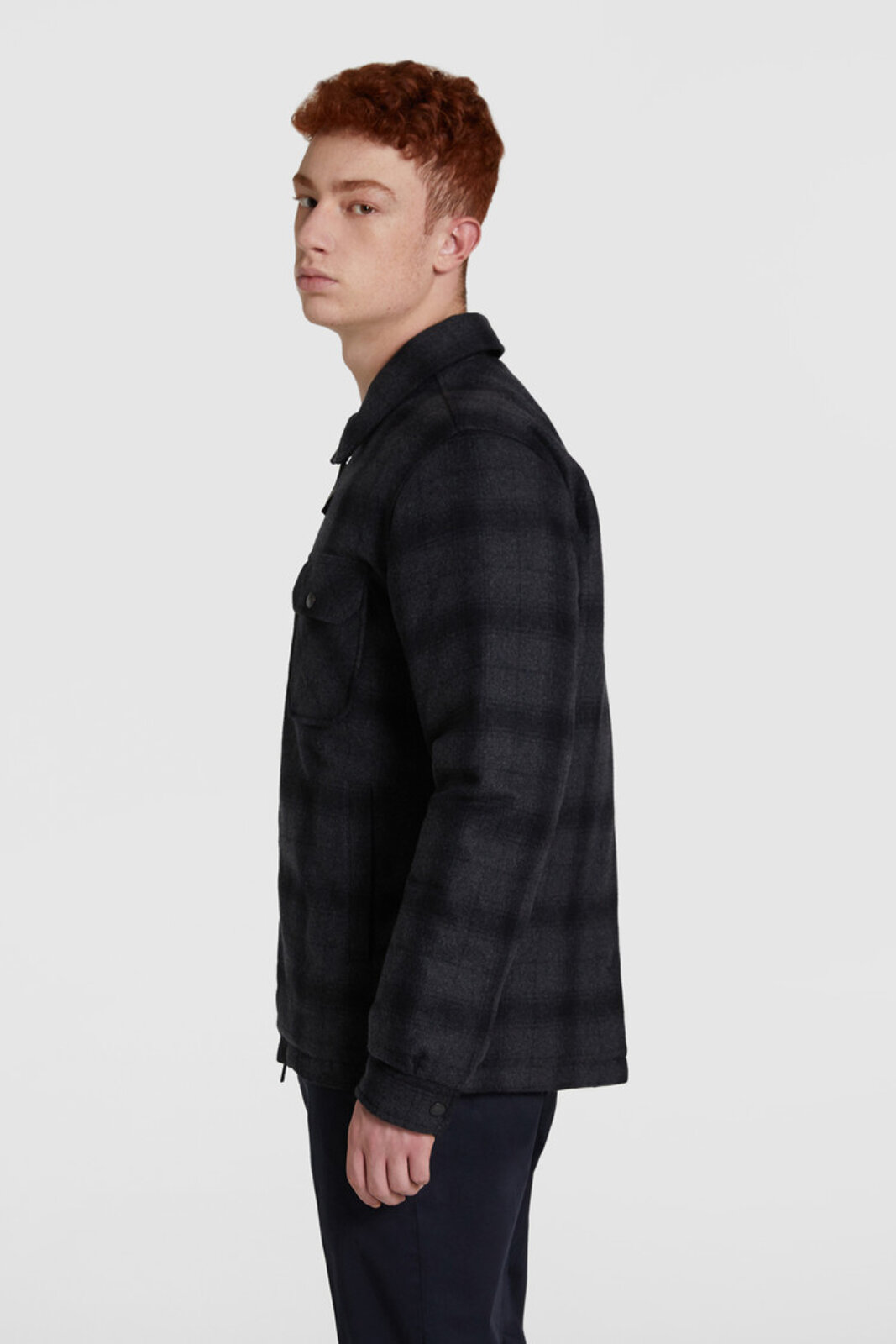 Reversible Padded Shirt - Woolrich