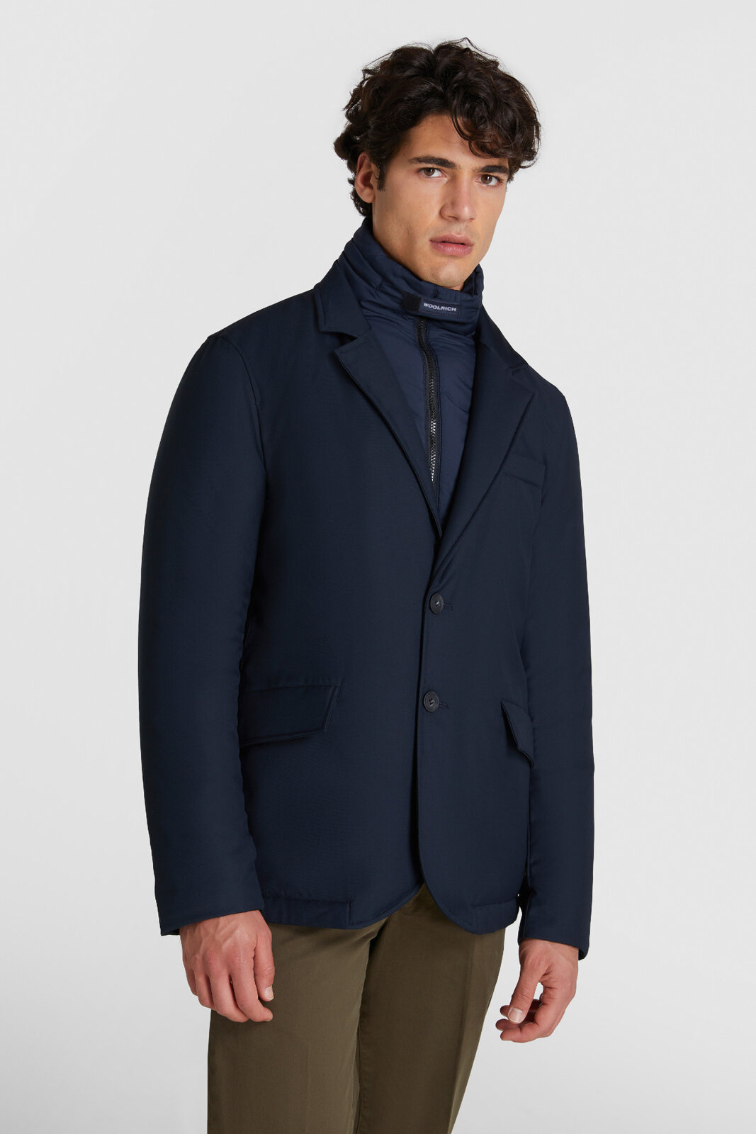 City Blazer With Removable Bib - Woolrich
