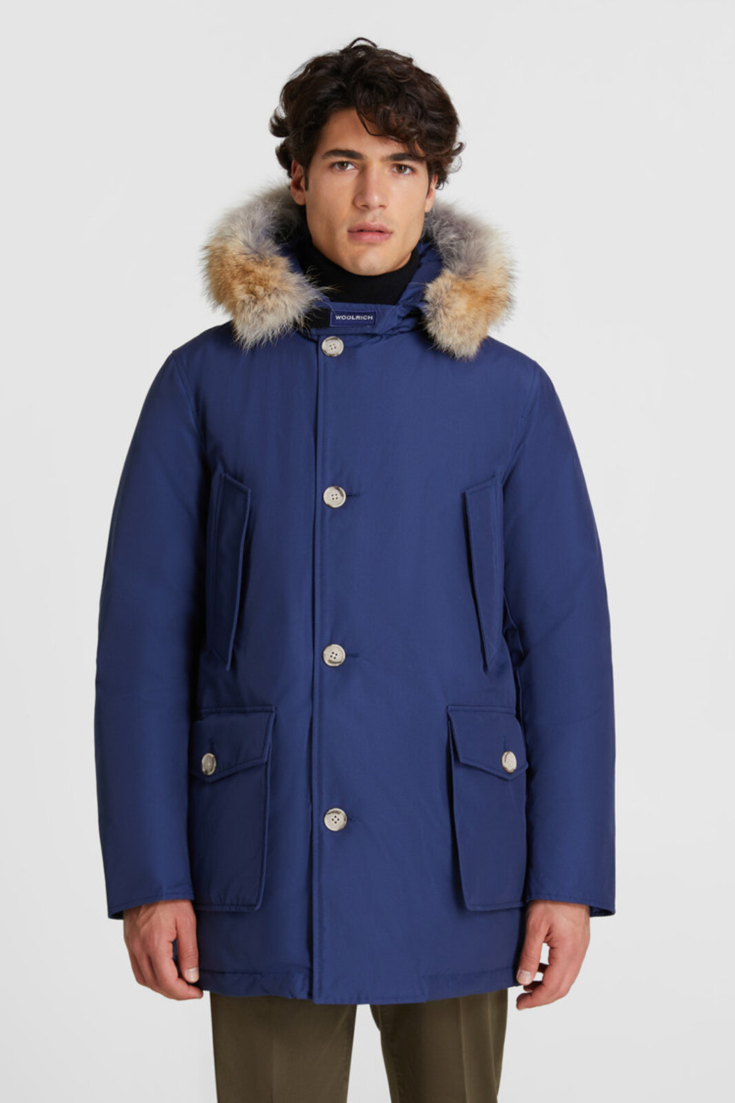 Arctic Parka With Removable Fur - Woolrich
