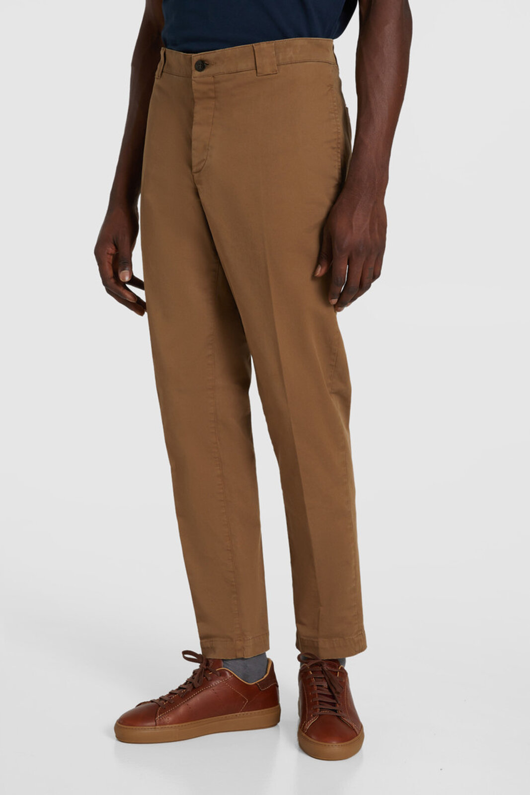 Pantaloni Chino In Cotone Tinto In Capo - Woolrich