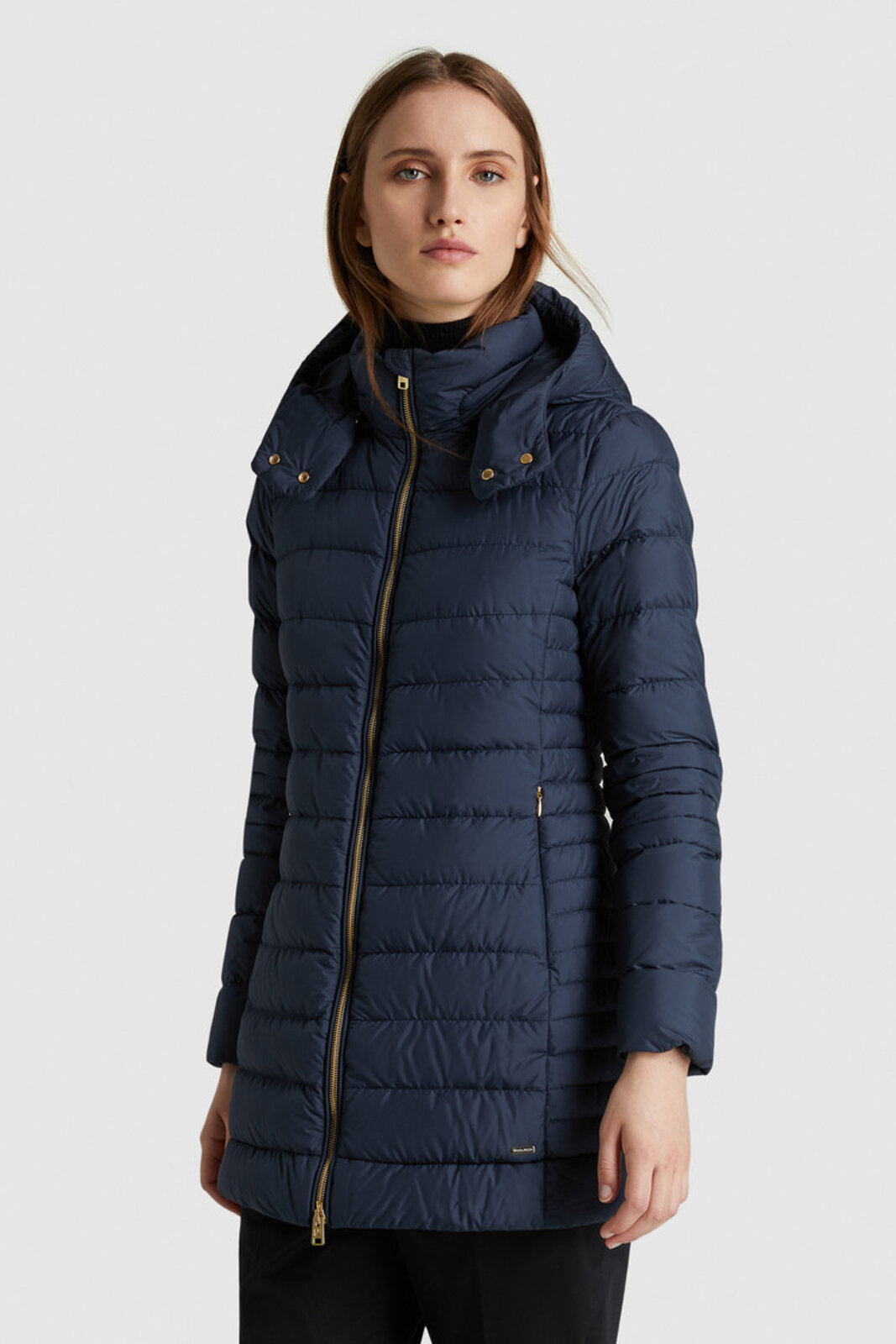 Ellis Padded Jacket With Hood - Woolrich