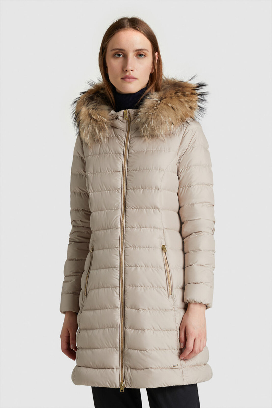 Ellis Long Padded Jacket - Woolrich