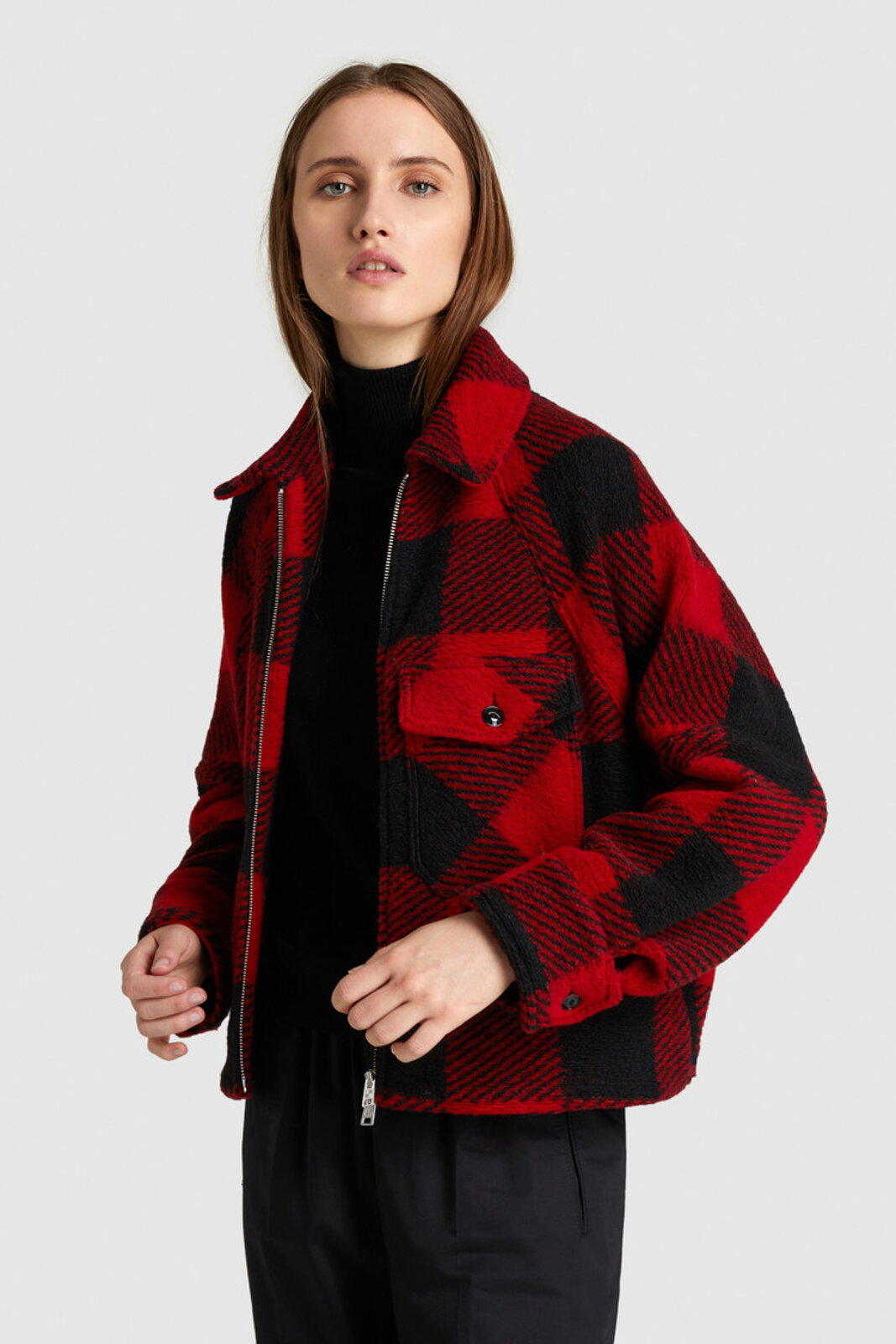 Timber Wool Shirt Jacket - Woolrich