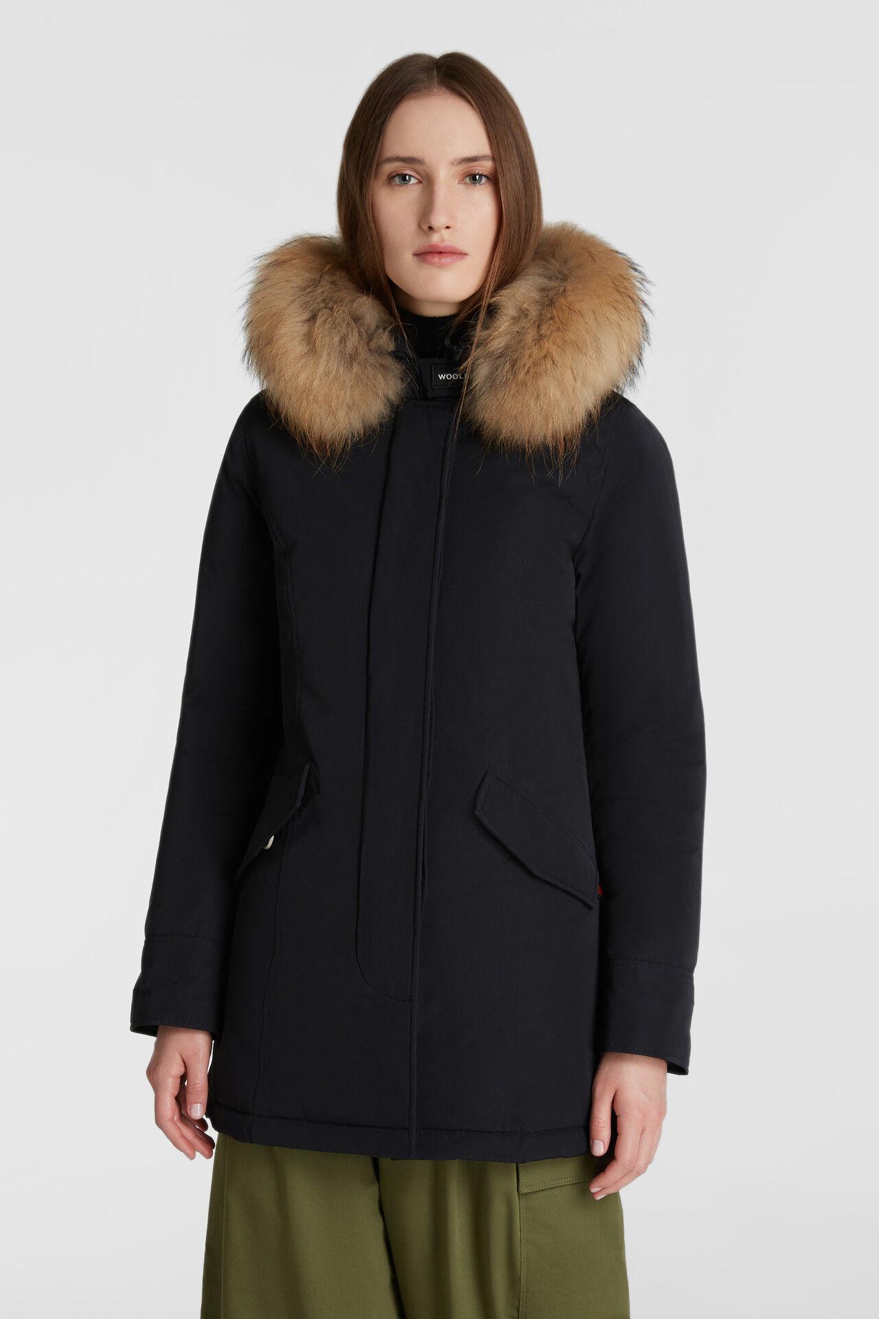 Arctic Parka Luxury Pelliccia Racoon - Woolrich