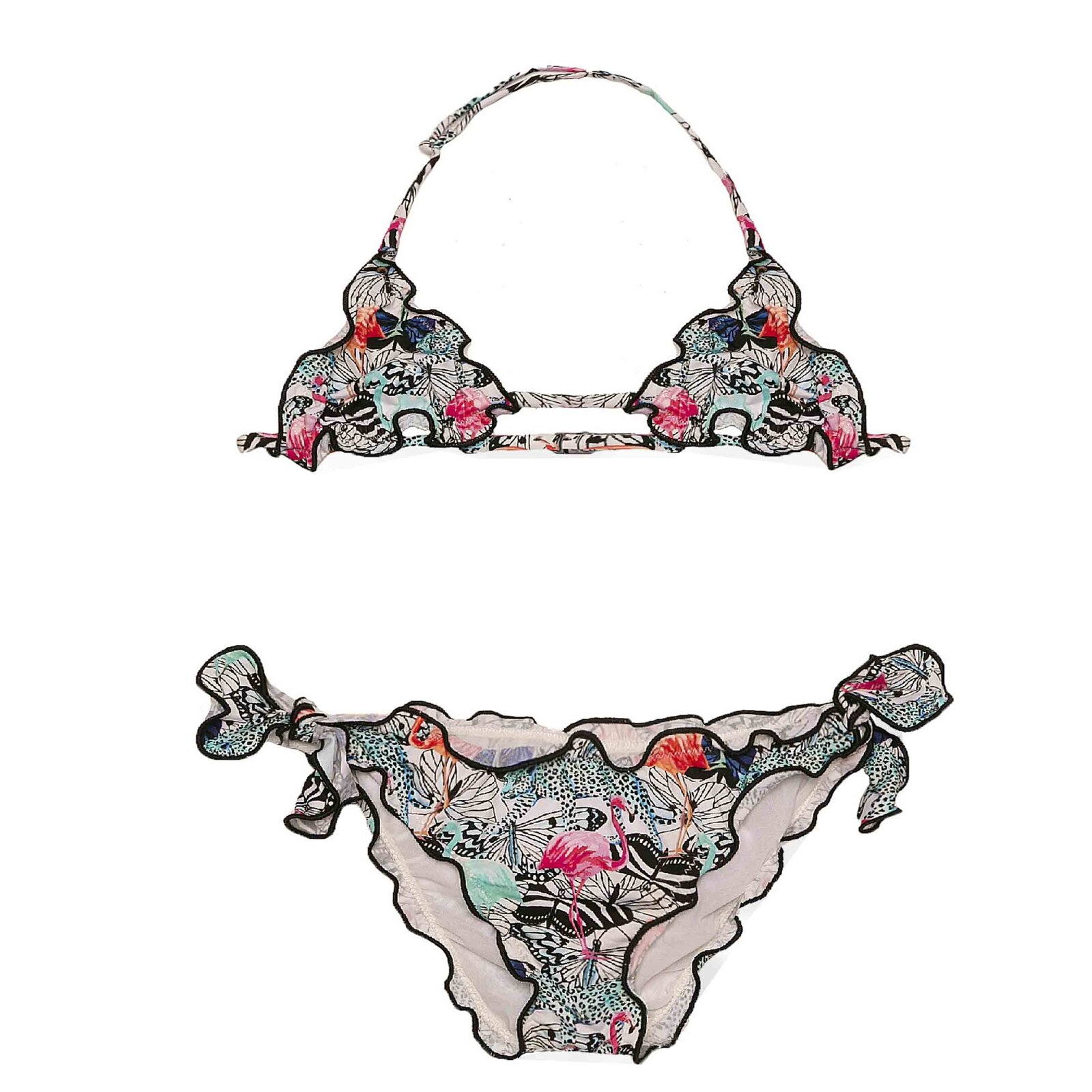 Bikini Bambina Fantasia Tropicale - MC2 Saint Barth Junior
