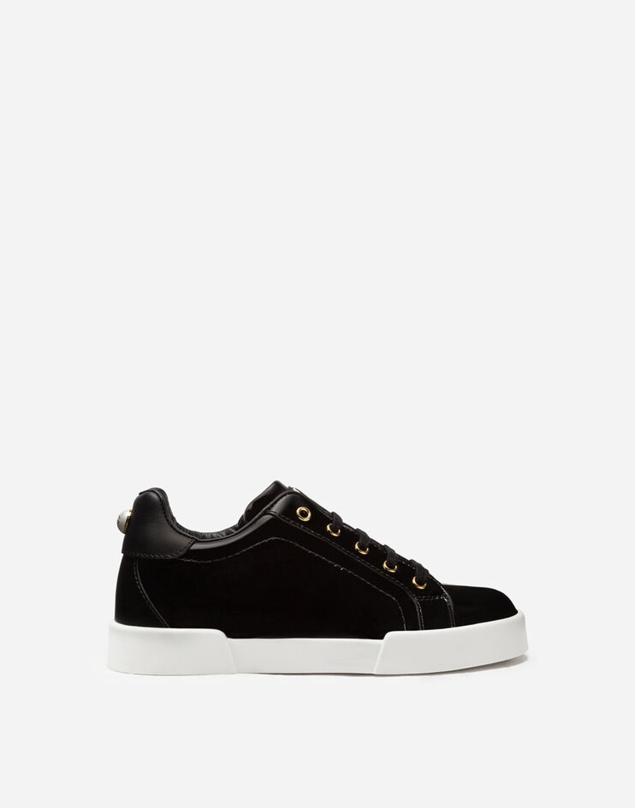 Sneakers Portofino Light In Vernice - Dolce & Gabbana Junior