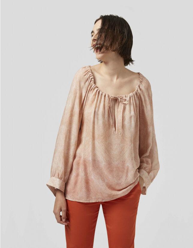 Printed Georgette Shirt - Dondup