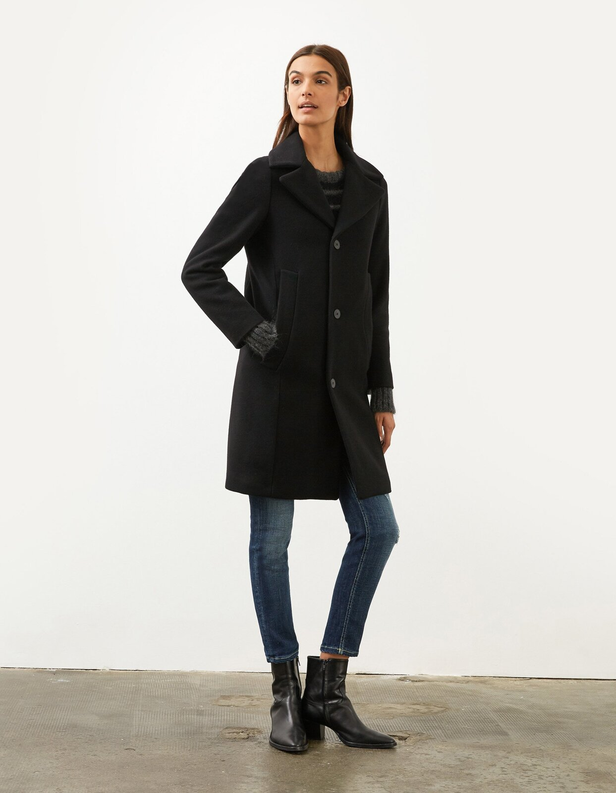 Cappotto in lana - Dondup