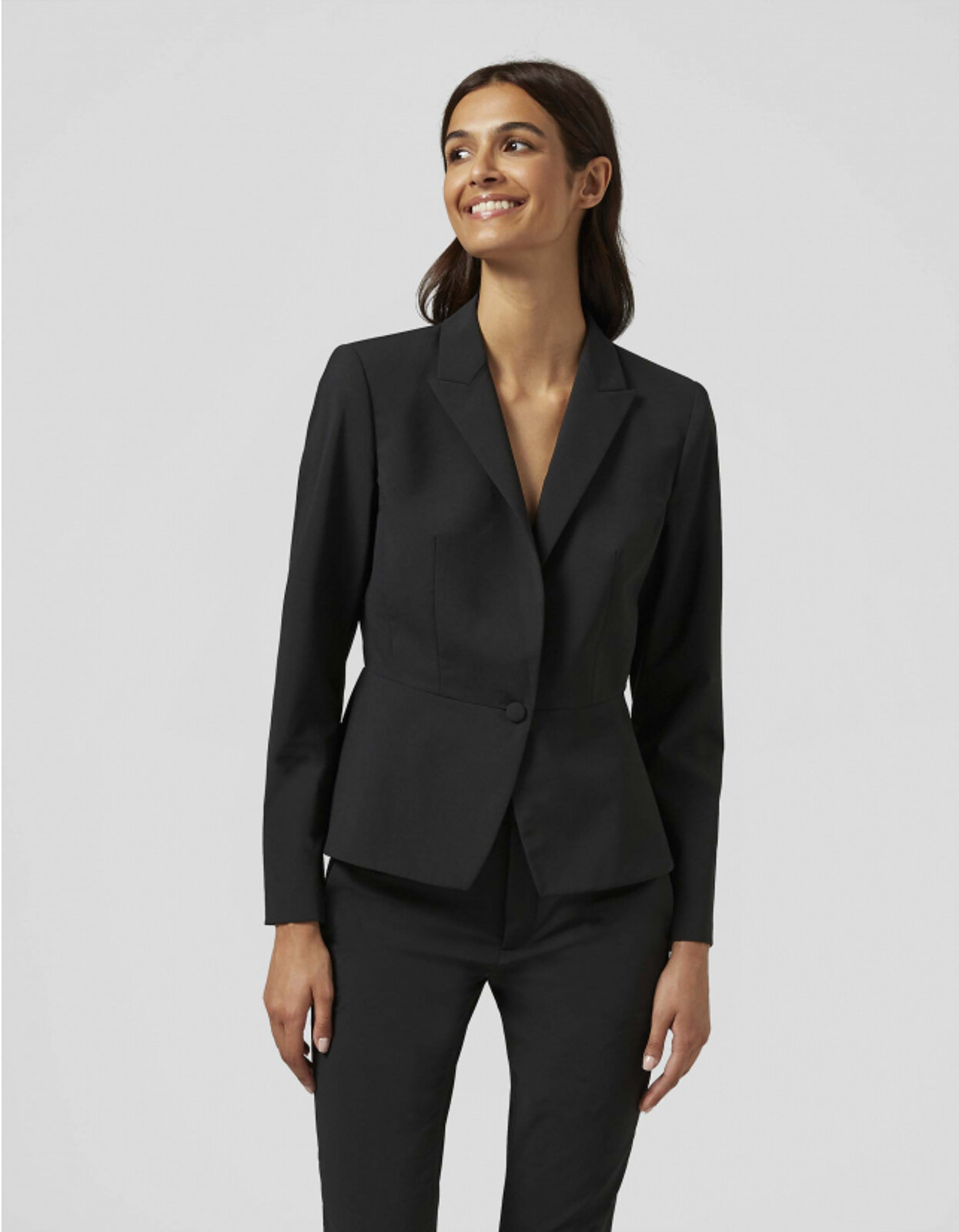 Blazer Monopetto In Lana - Dondup