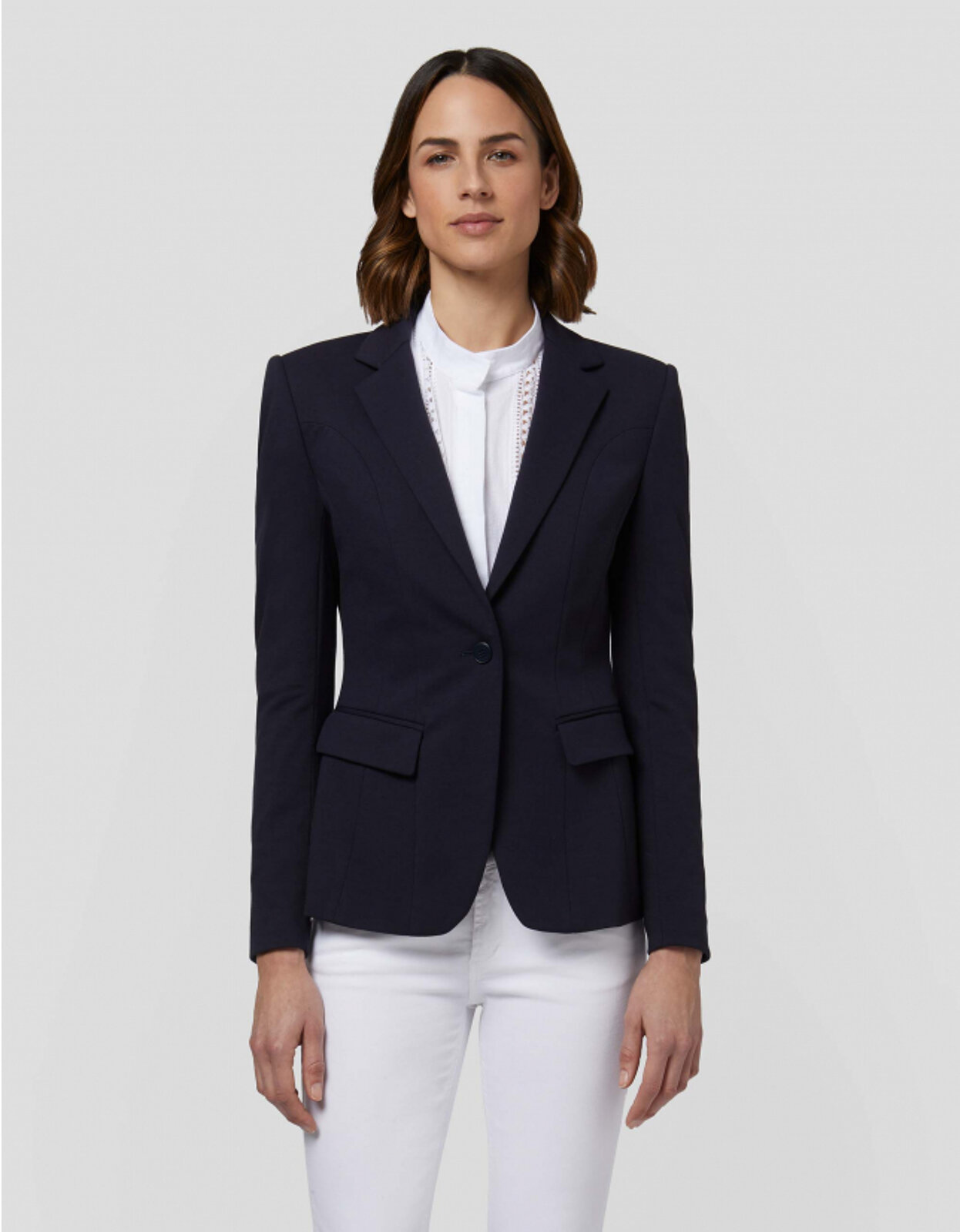 Blazer Monopetto In Jersey - Dondup