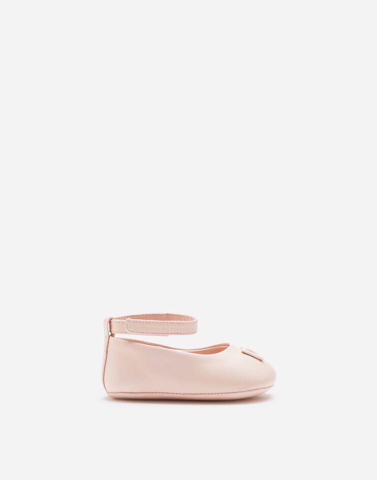 Ballerina Ankle Strap In Nappa - Dolce & Gabbana Junior