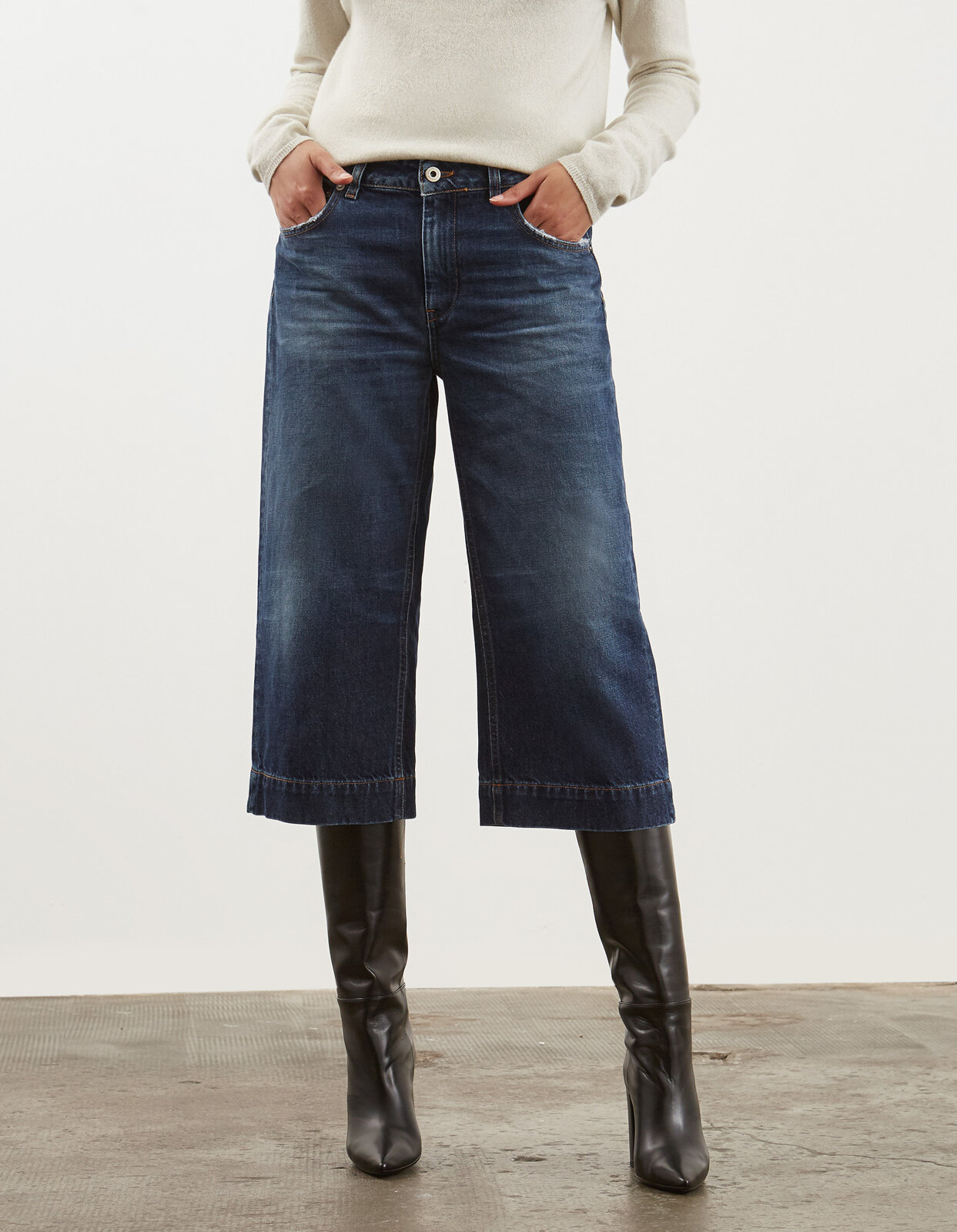 Jade loose cropped jeans - Dondup