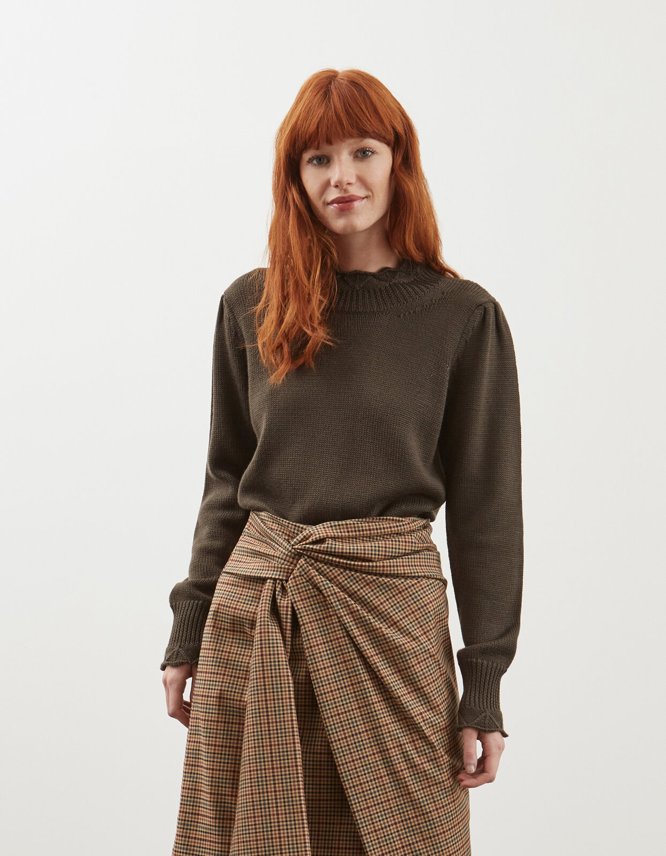 Maglia girocollo in lana - Dondup