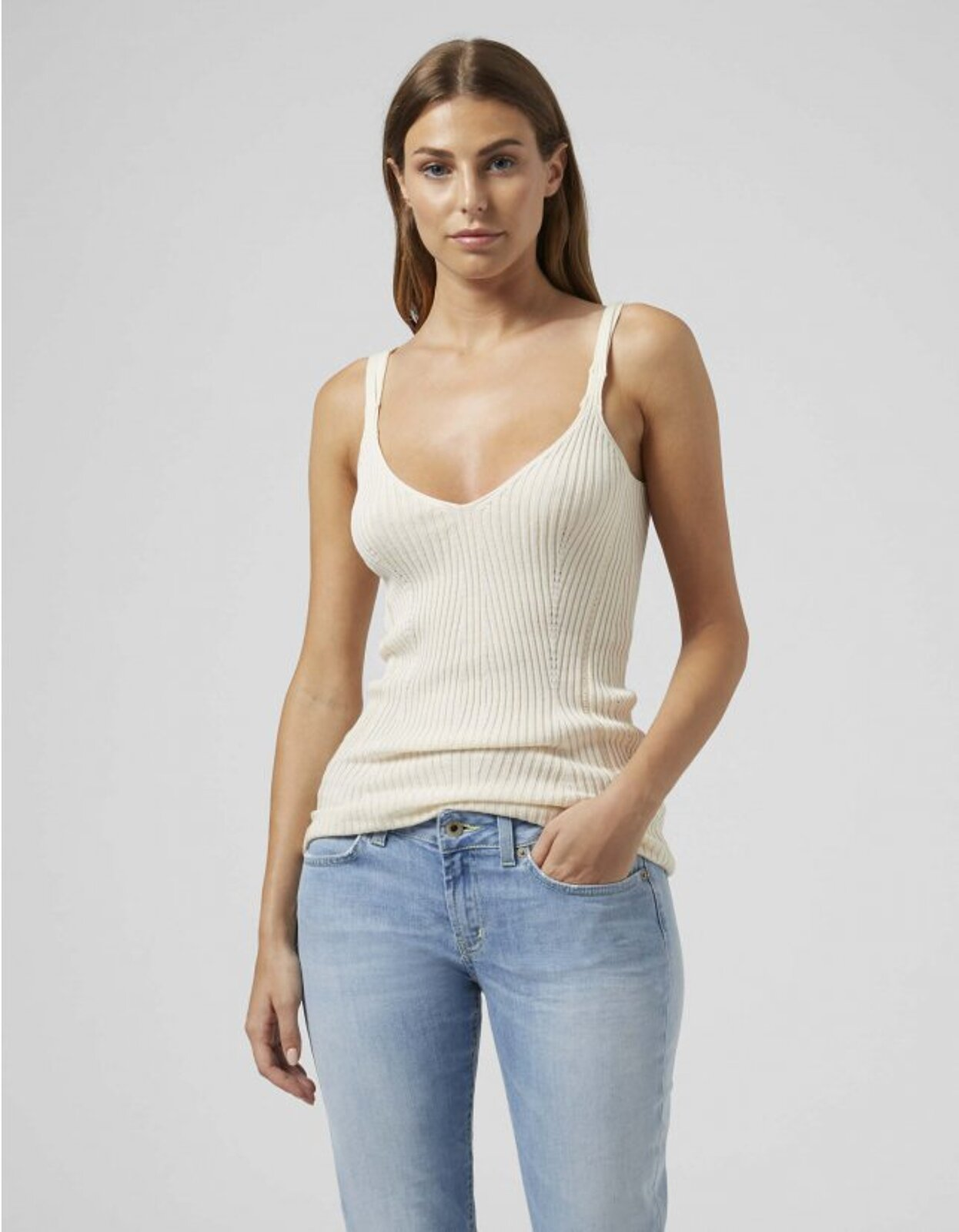 Top In Cotton And Viscose - Dondup