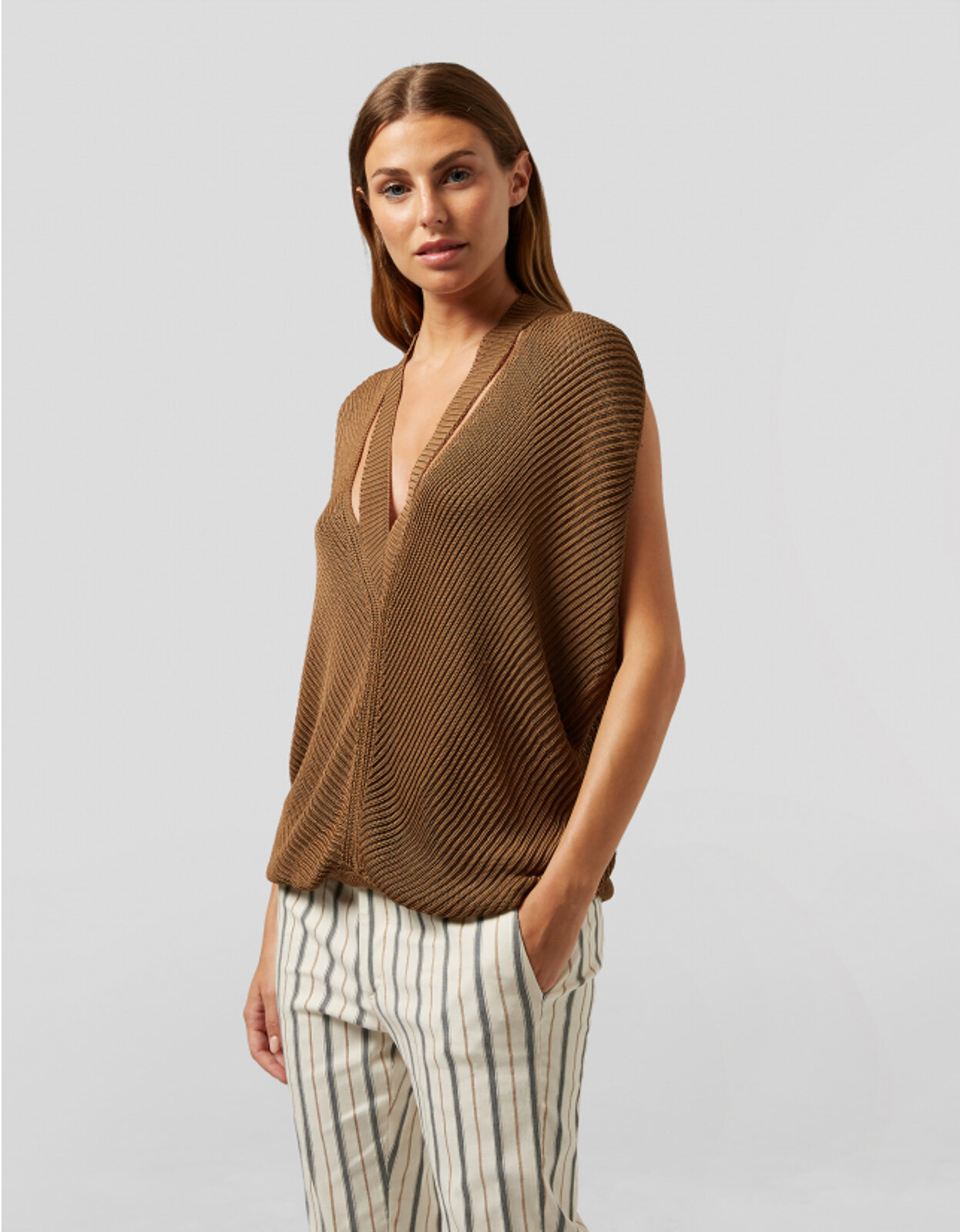Top Over In Viscose - Dondup