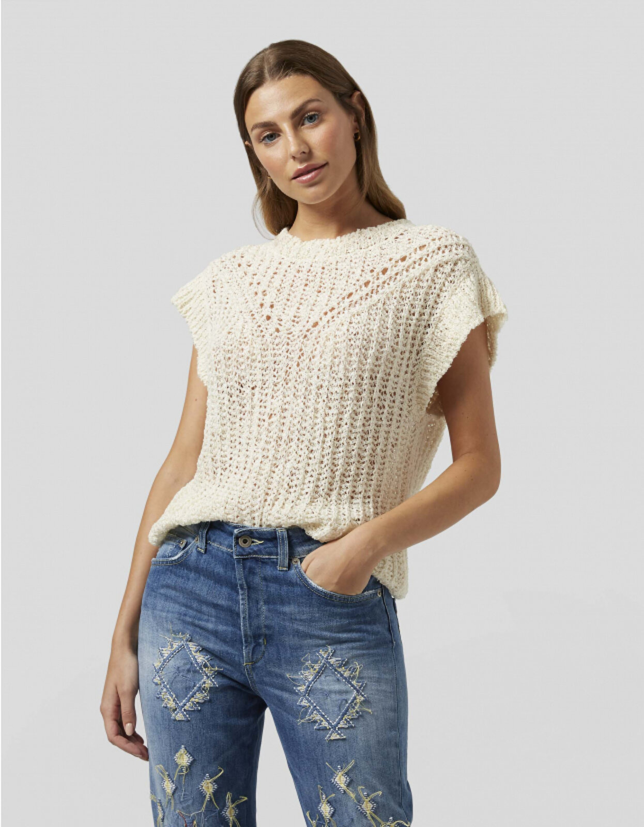 Hemp Short Sleeved Shirt - Dondup