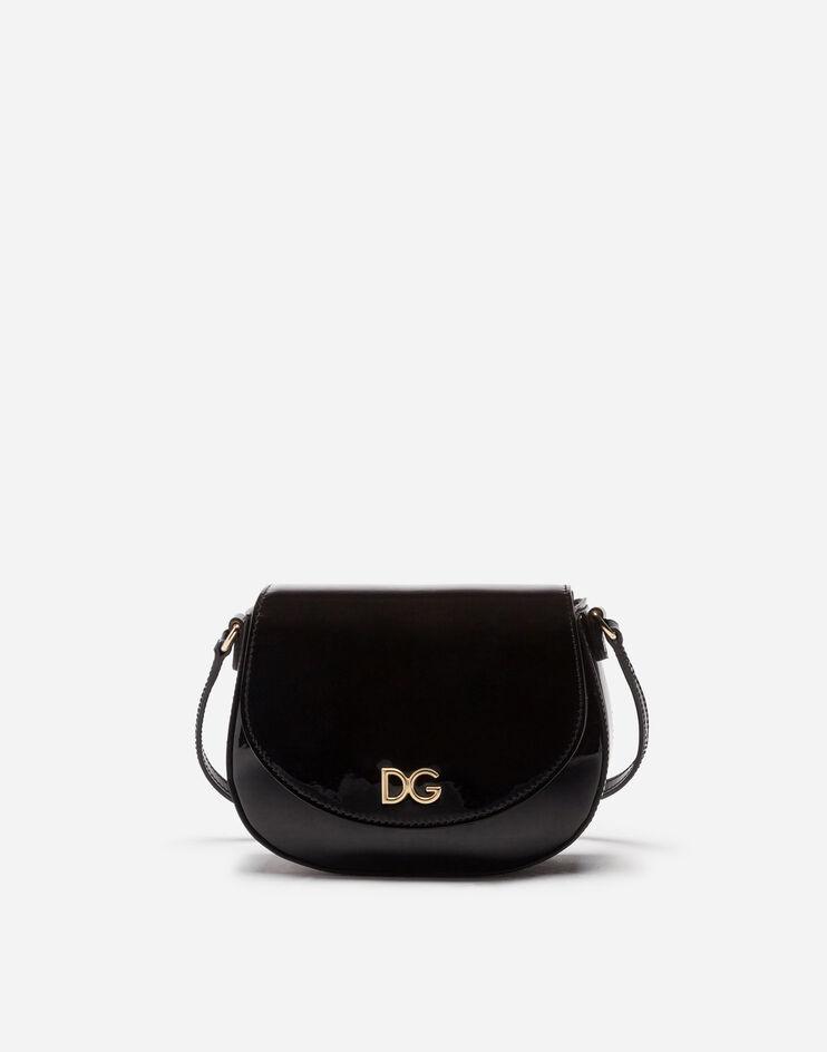 Borsa Tracolla In Vernice Logo Dg - Dolce & Gabbana Junior