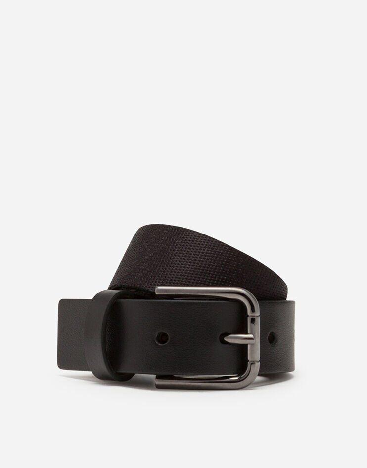 Cintura Nastro Elastico Dg Rubber - Dolce & Gabbana Junior