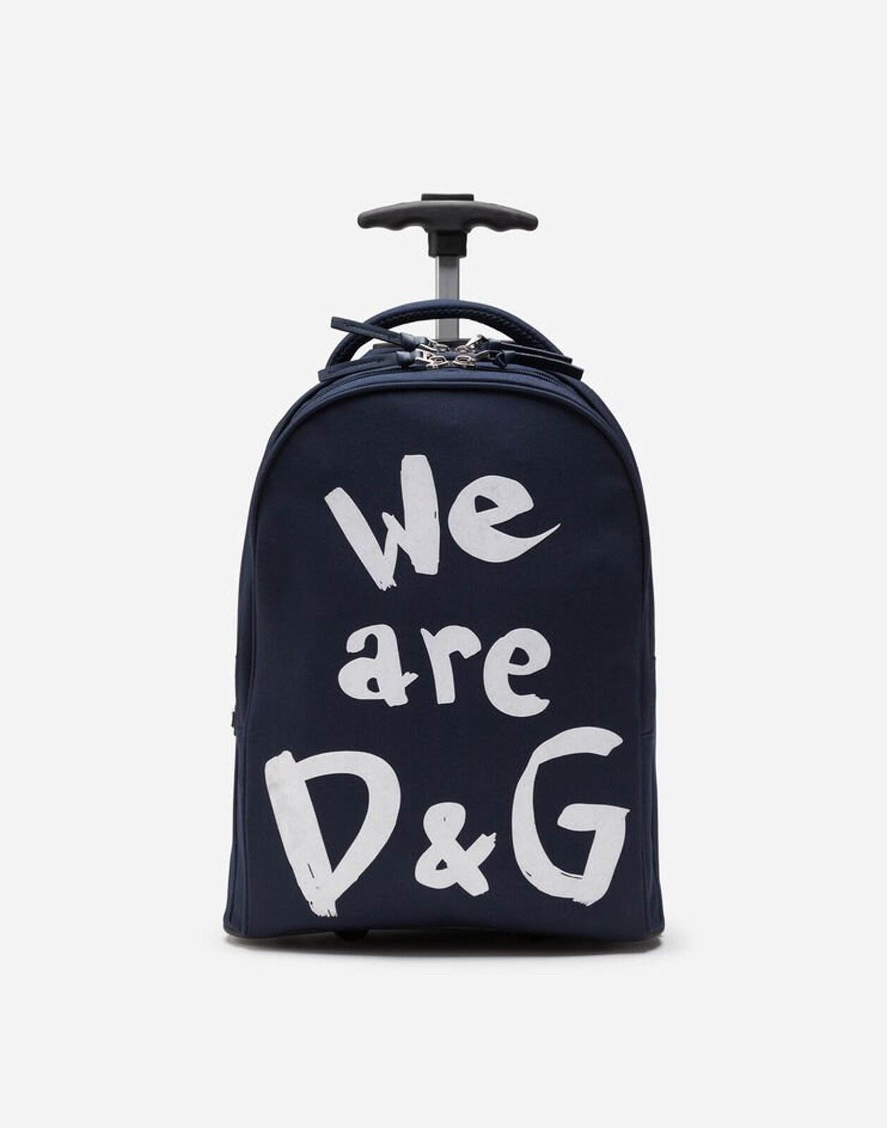 Trolley In Nylon Cordura We Are D&G - Dolce & Gabbana Junior