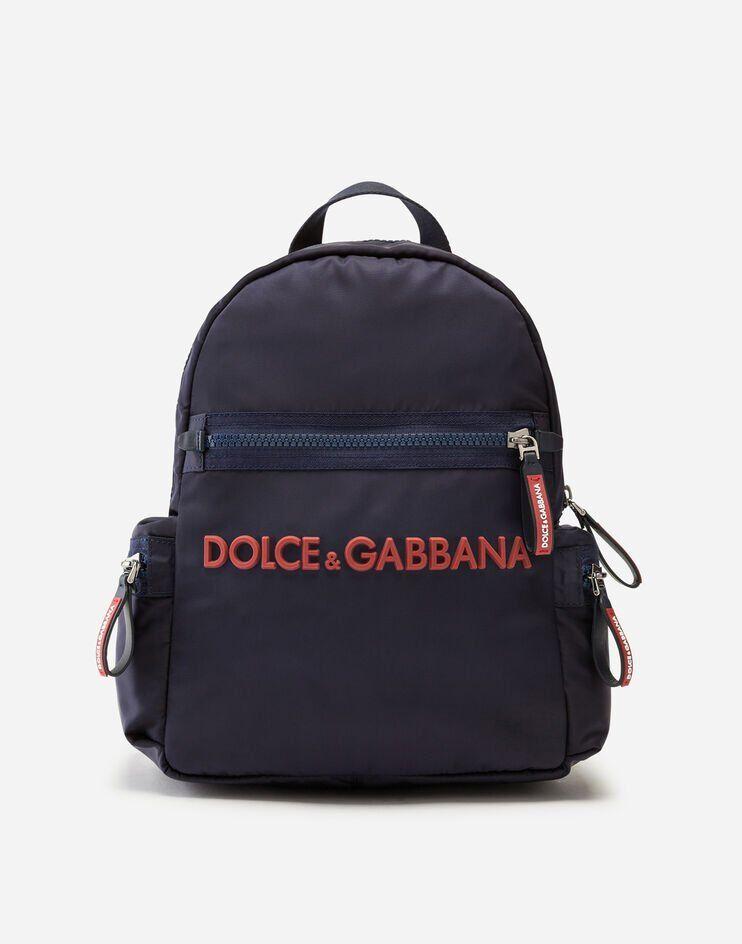 Zaino In Nylon Con Logo - Dolce & Gabbana Junior