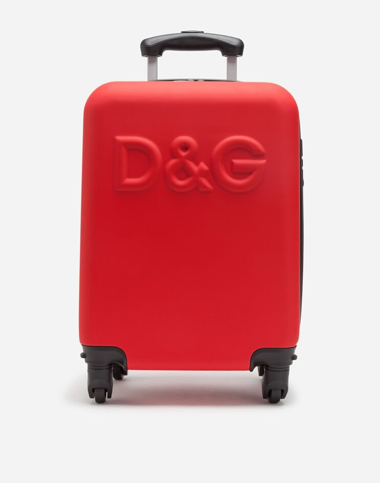 Trolley Viaggio Con Logo - Dolce & Gabbana Junior