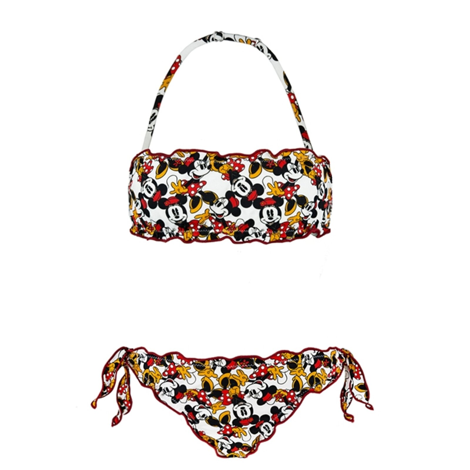 Bikini Bambina Con Stampa Cartone Animato - MC2 Saint Barth Junior