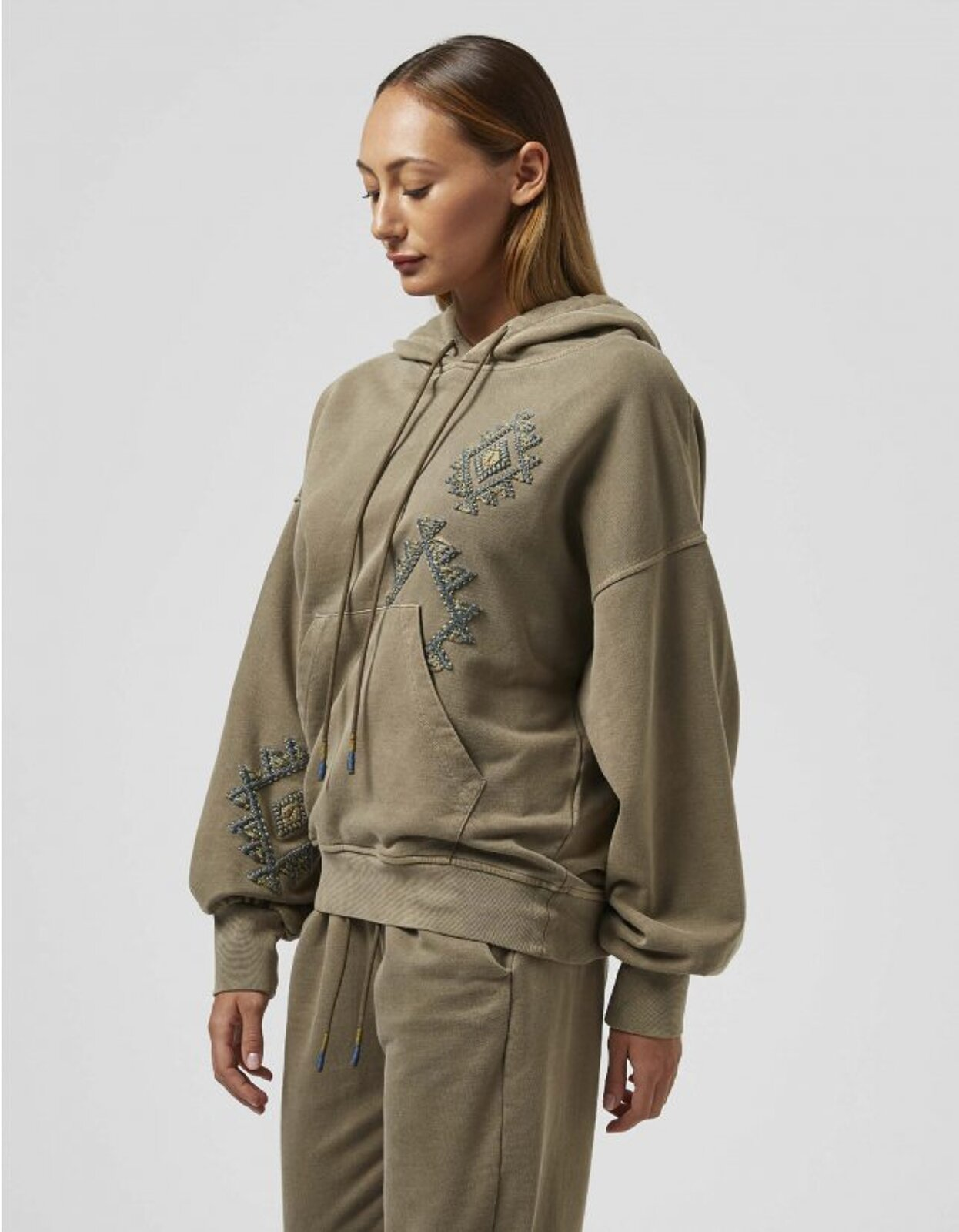 Cotton Hooded Sweatshirt - Dondup