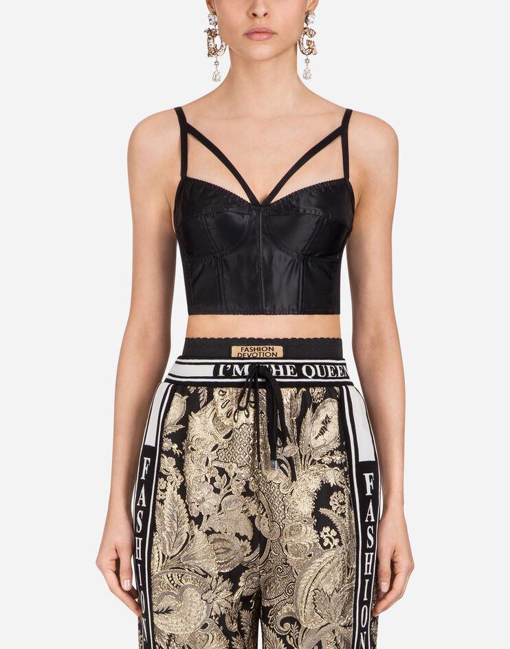 Top In Satin - Dolce & Gabbana