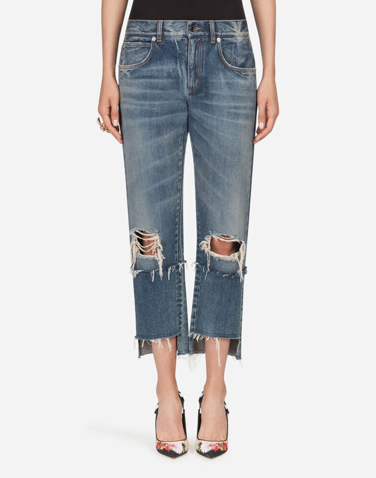 Jeans In Denim - Dolce & Gabbana