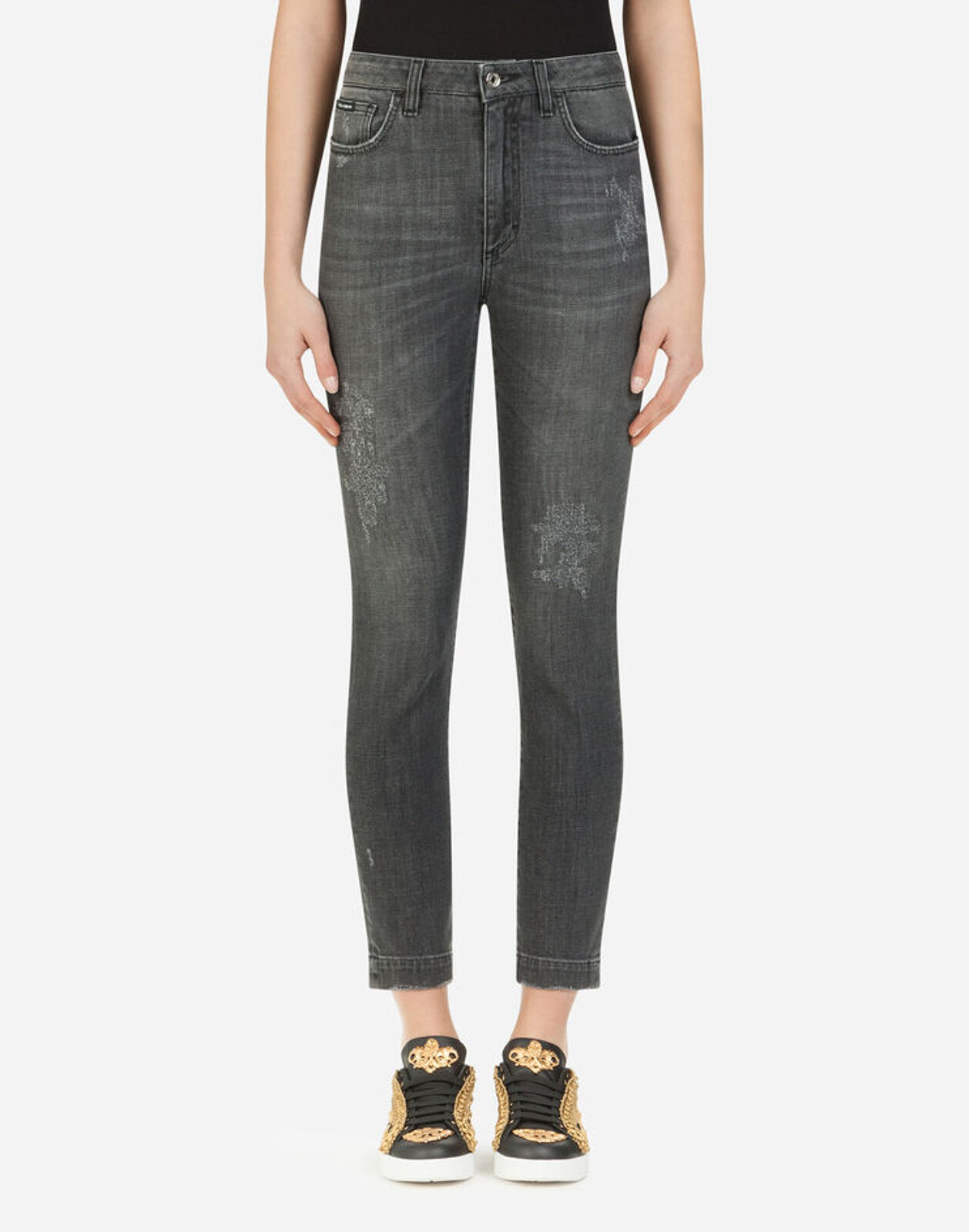 Jeans Fit Audrey In Denim Stretch - Dolce & Gabbana