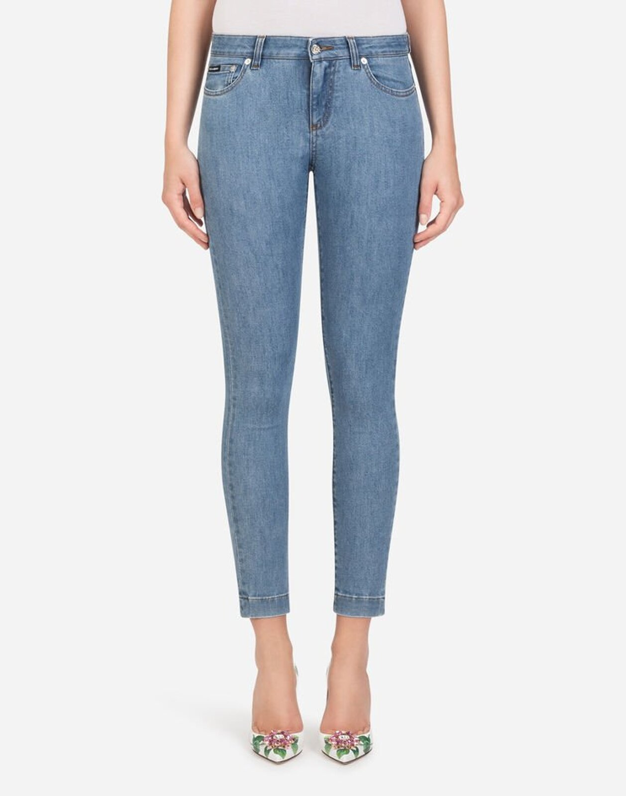 Jeans Fit Pretty In Denim Stretch - Dolce & Gabbana