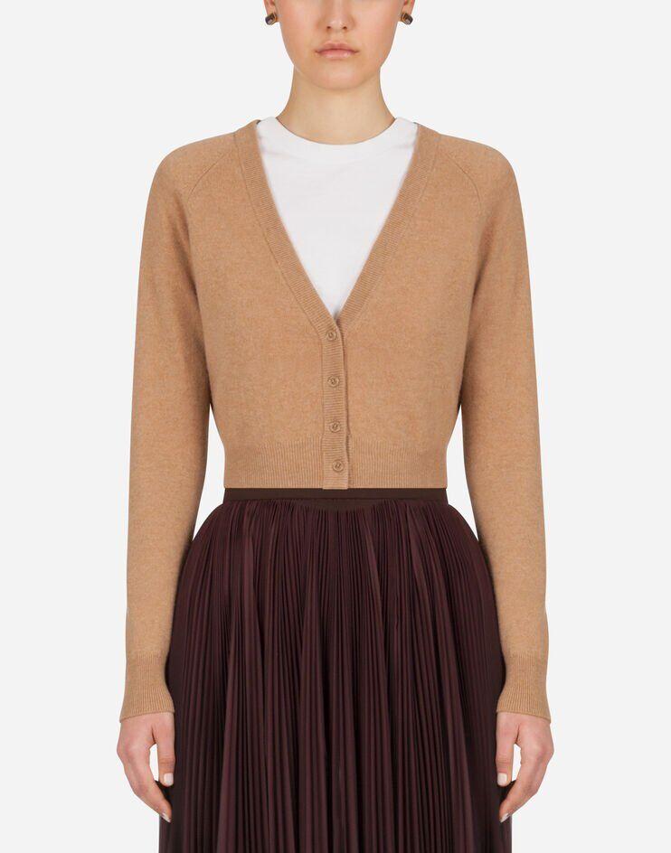 Short Cashmere Cardigan - Dolce & Gabbana