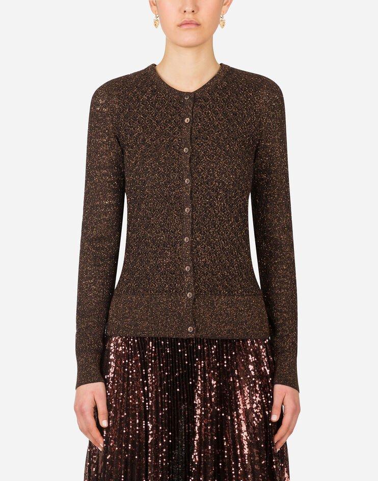 Lurex Lace Cardigan - Dolce & Gabbana