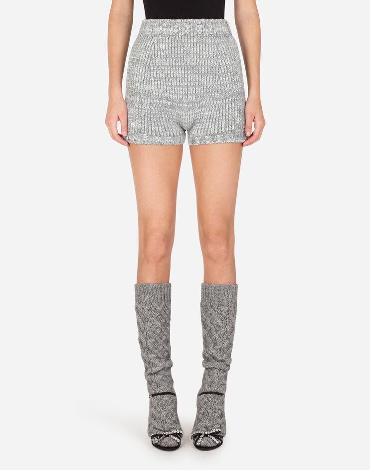 Shorts In Maglia - Dolce & Gabbana