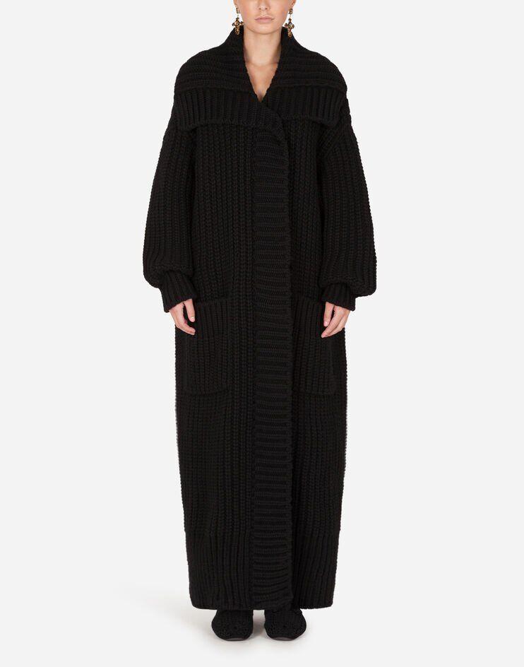 Cappotto In Maglia A Maniche Lunghe - Dolce & Gabbana