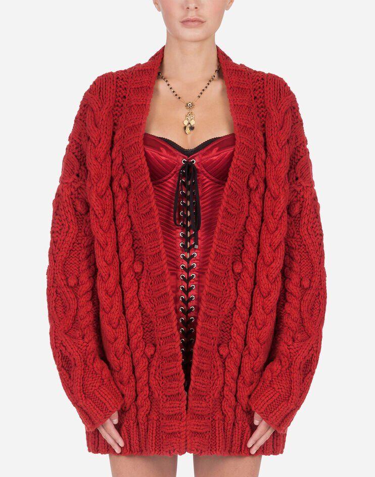 Virgin Wool Cardigan - Dolce & Gabbana