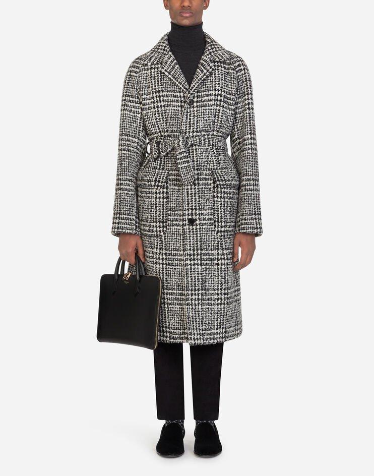 Cappotto Lana Principe Di Galles - Dolce & Gabbana