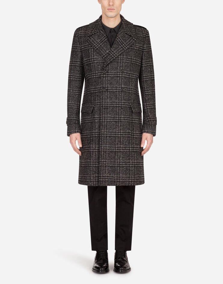 Cappotto Doppiopetto Lana Principe Di Galles - Dolce & Gabbana