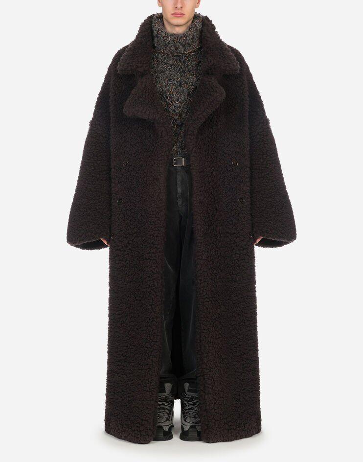 Cappotto Doppiopetto In Montone - Dolce & Gabbana