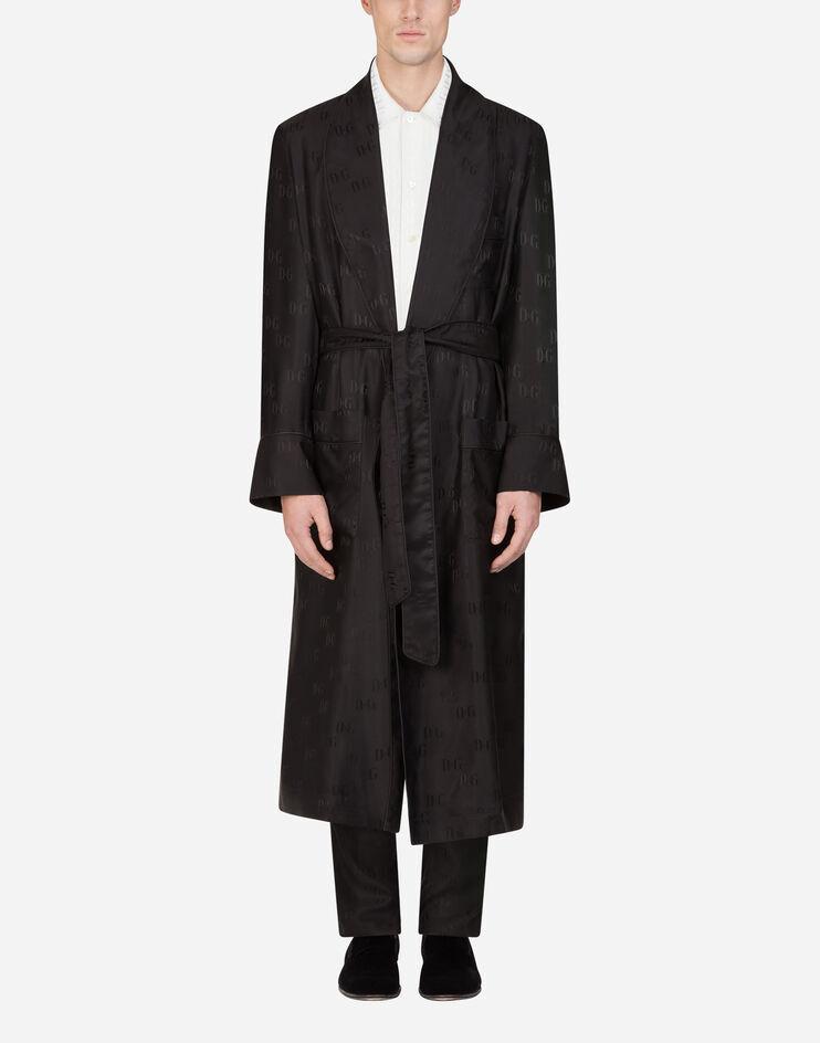 Jacquard Silk Robe - Dolce & Gabbana