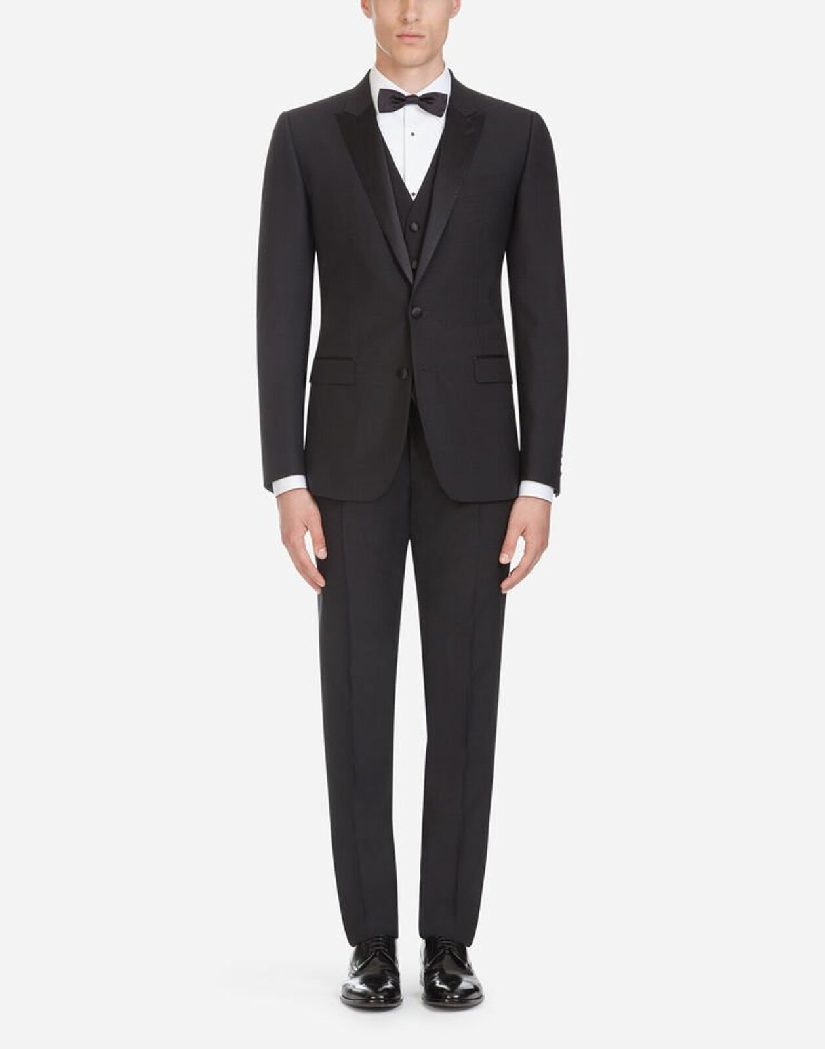 Abito Tuxedo In Lana - Dolce & Gabbana