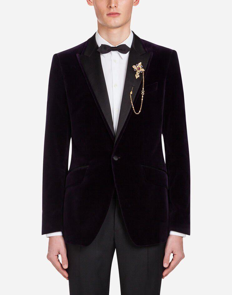 Giacca Tuxedo In Velluto - Dolce & Gabbana