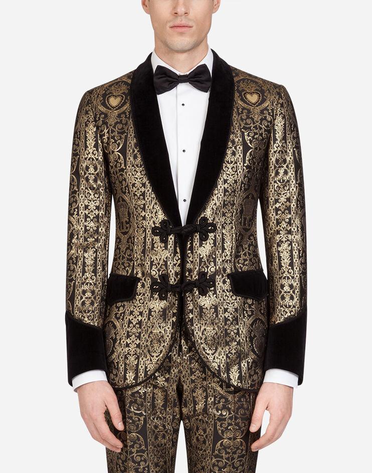Giacca Tuxedo Dettagli Velluto - Dolce & Gabbana