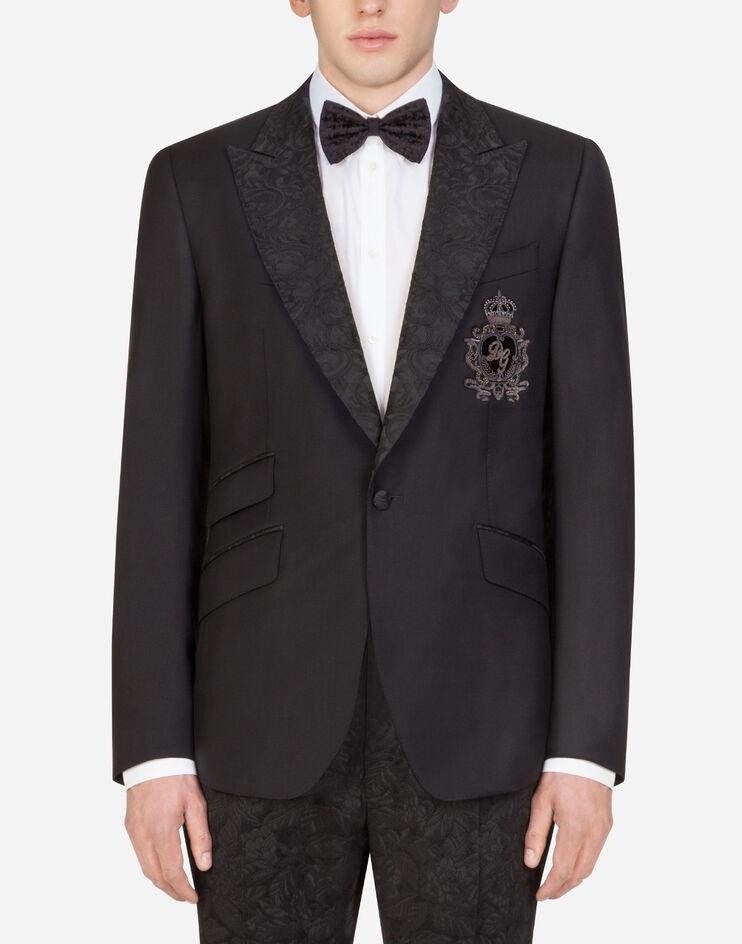 Giacca Sicilia Tuxedo Con Patch - Dolce & Gabbana