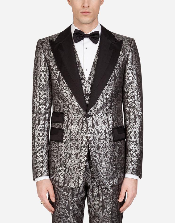 Giacca Tuxedo Dettagli Gros Grain - Dolce & Gabbana