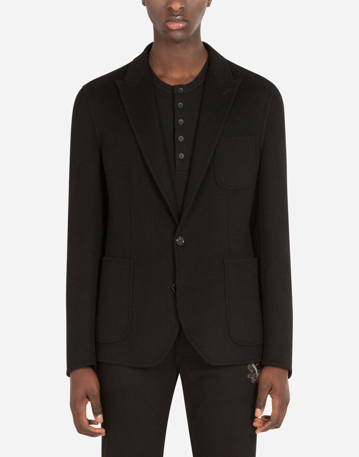 Cashmere Deconstructed Jacket - Dolce & Gabbana