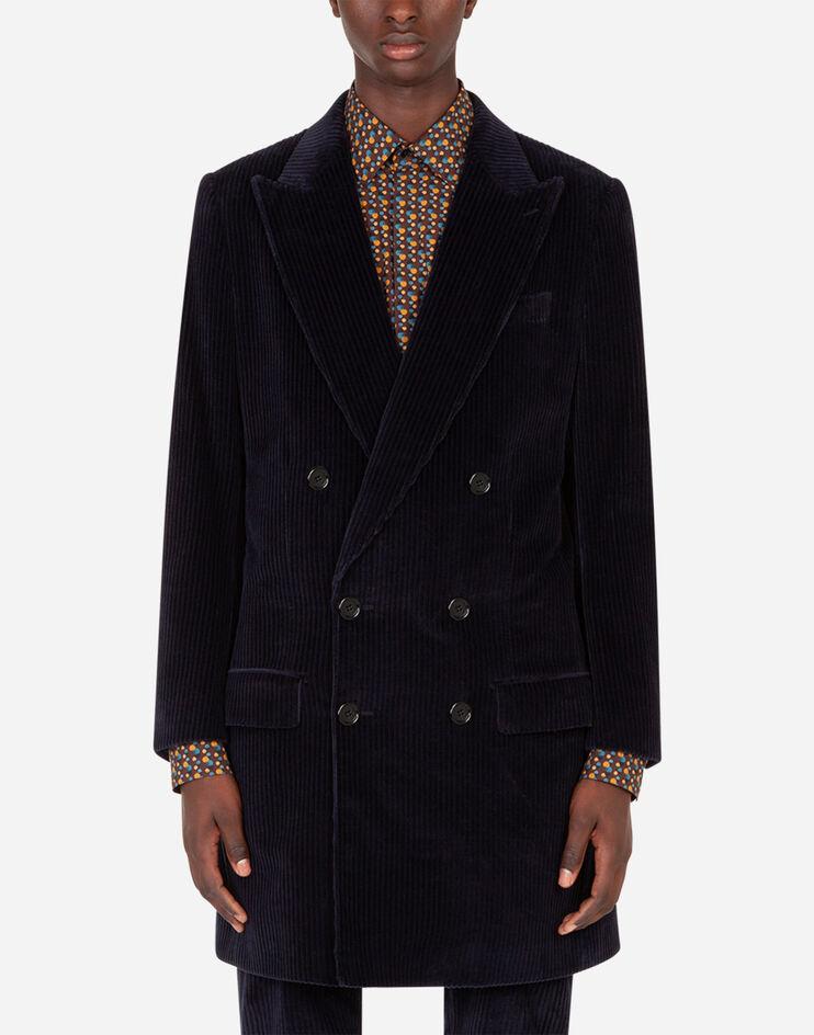 Cappotto Doppiopetto In Velluto A Coste - Dolce & Gabbana