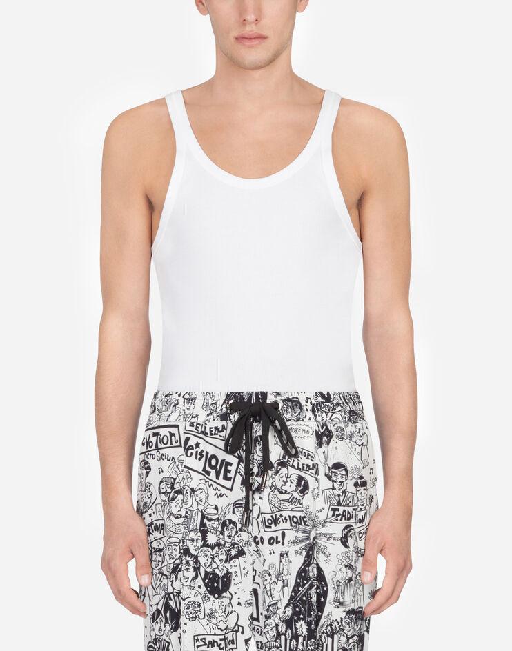 Cotton Tank Top - Dolce & Gabbana
