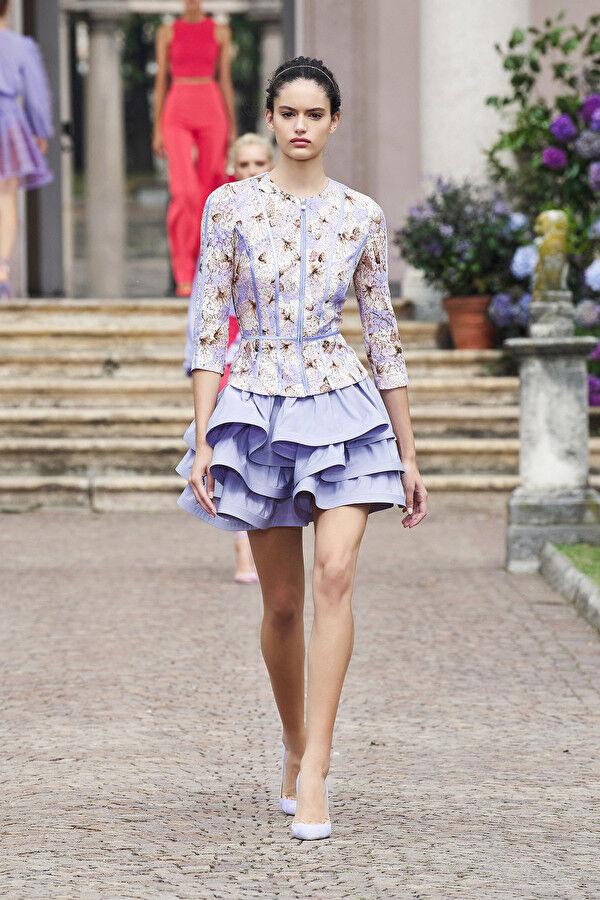 Elisabetta Franchi Butterfly Print Jacket - Elisabetta Franchi